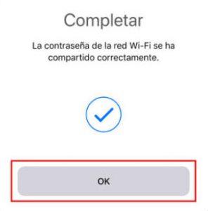 Compartir wifi con IOS11