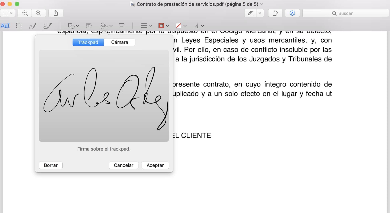 firmar pdf sin escanear