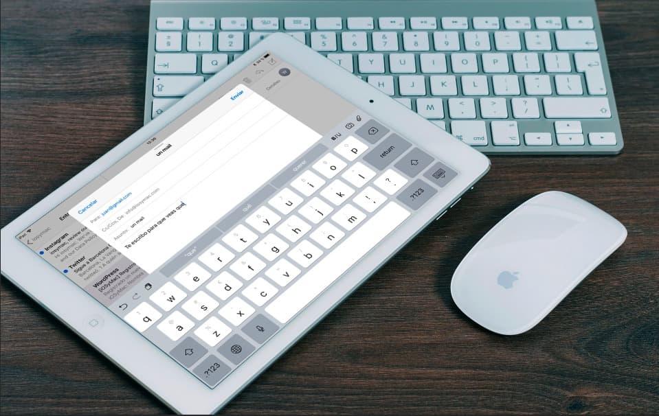Trucos teclado iPAD