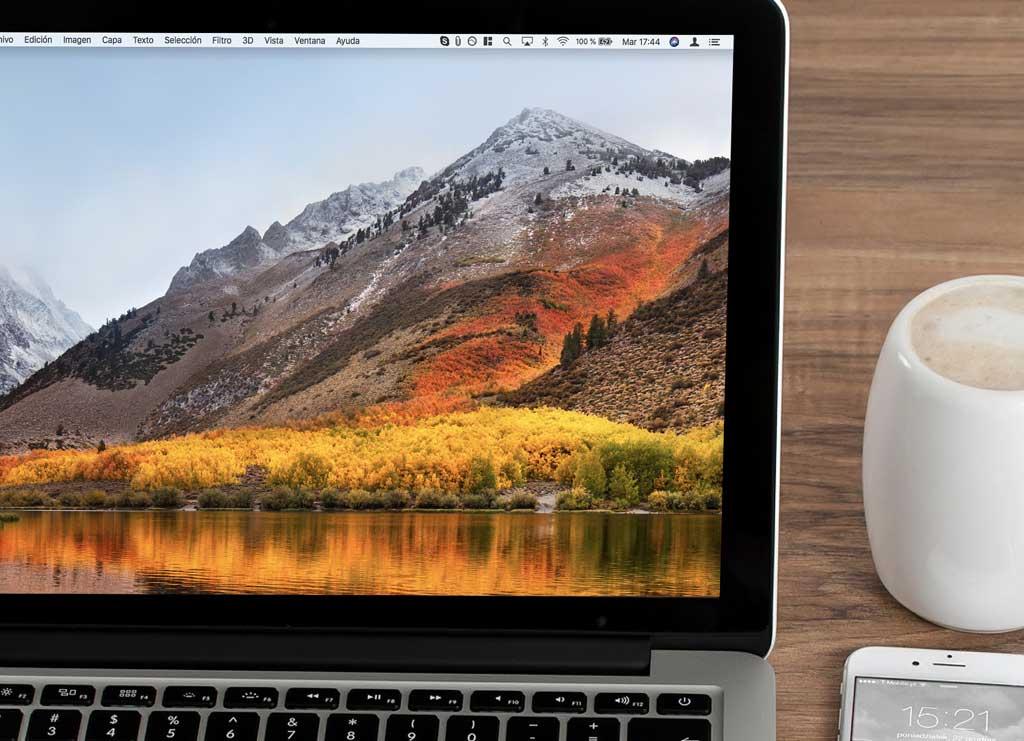 Configurar menú del Mac