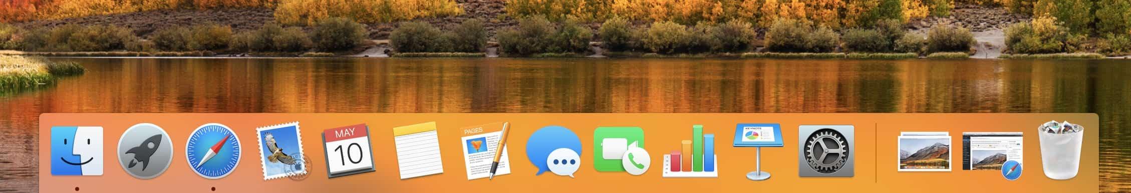 Dock Mac OS
