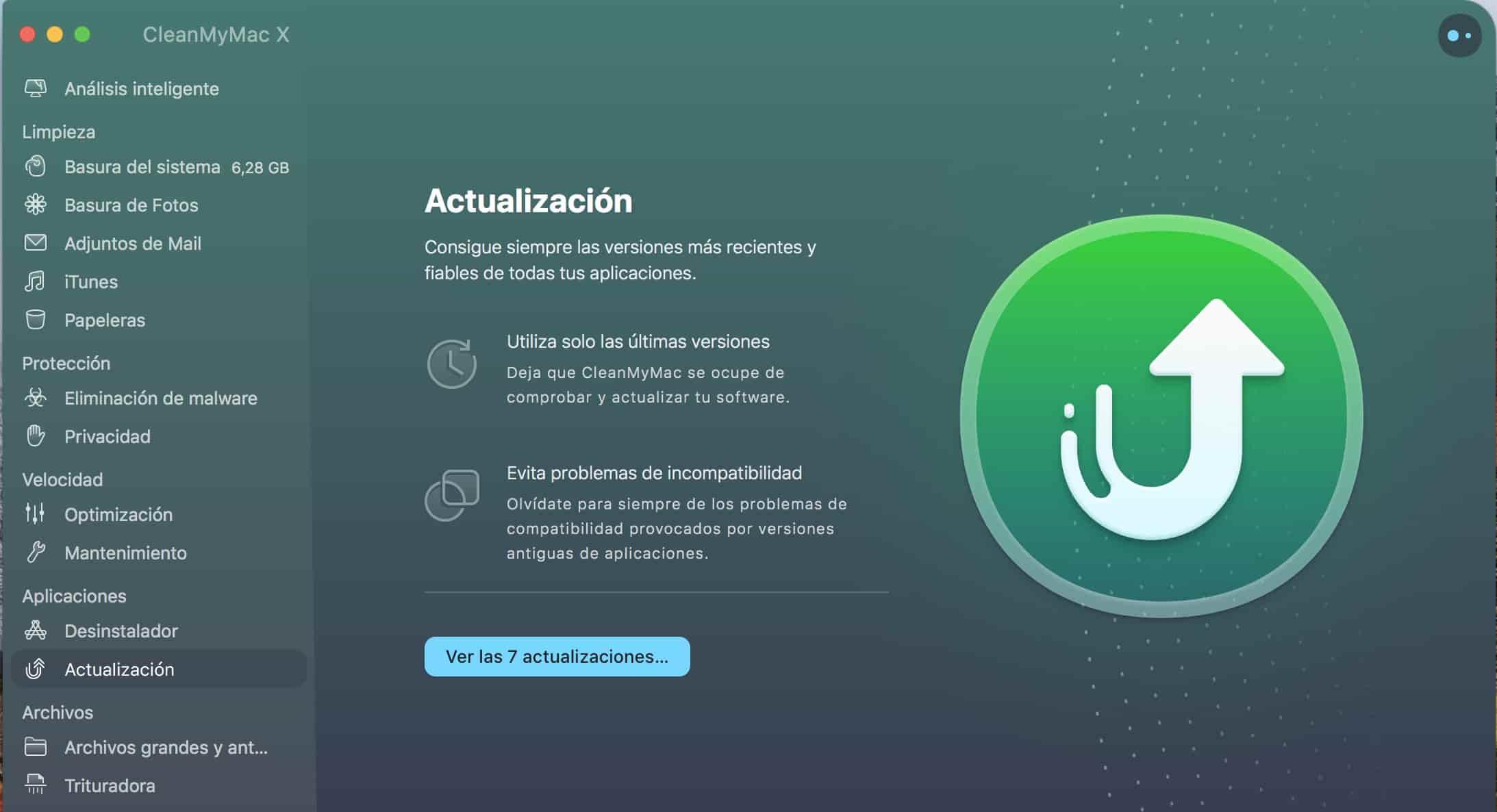 Actualización de Apps