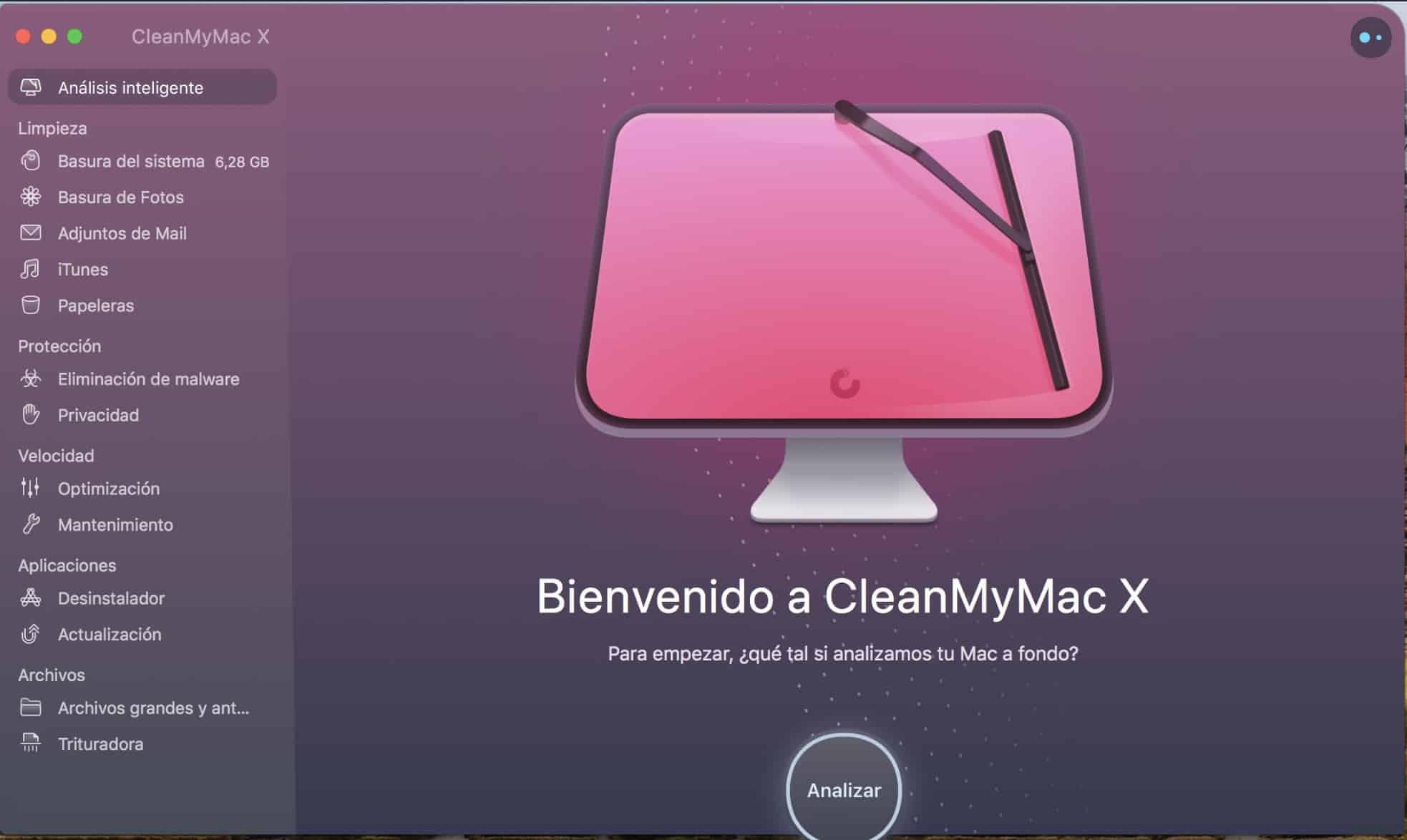 Diseño CleanMyMac X