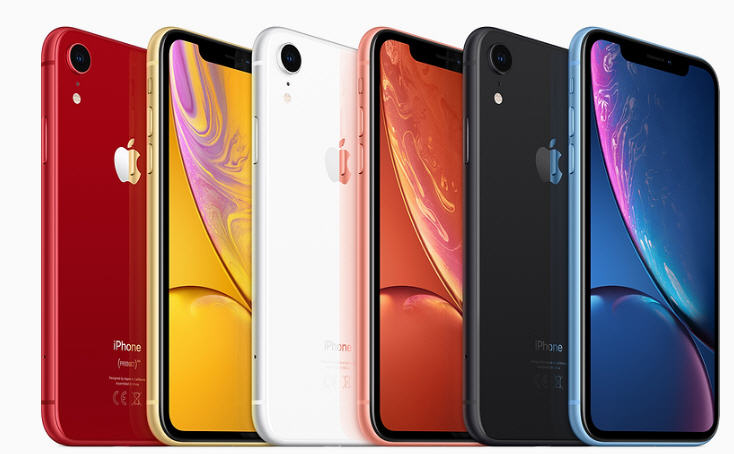 Gama iphone XR