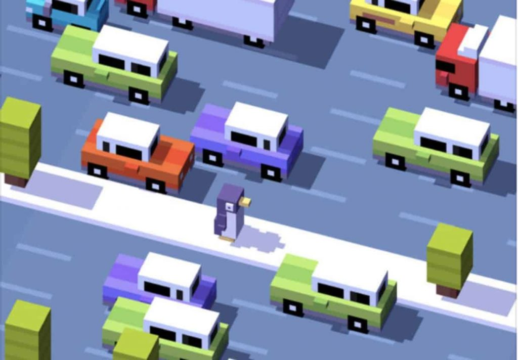 Crossy Road para iphone